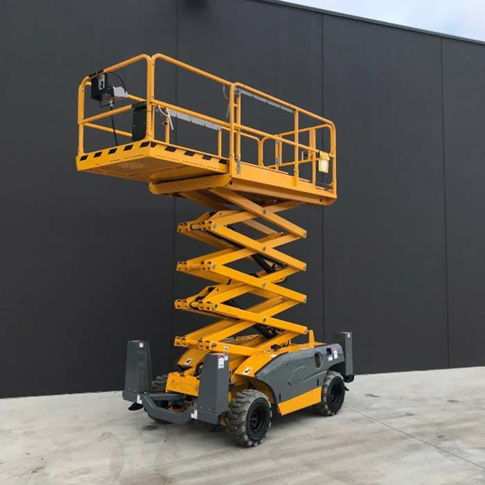 Scissor-Lift safety